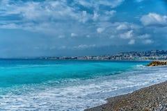 好,法国海滩 库存照片