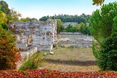 好,法国- 2011年10月17日:马蒂斯博物馆- 17世纪前热那亚人的别墅  免版税图库摄影