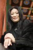 好年轻亚裔妇女。 库存照片