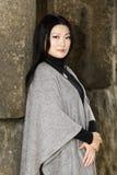 好年轻亚裔妇女 免版税库存图片