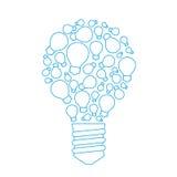 好主意包括链子:小想法、提示和技巧 库存例证