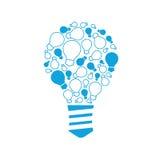 好主意包括链子:小想法、提示和技巧 向量例证