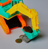 如何挣货币 库存图片