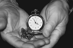 如何留给时间 免版税图库摄影