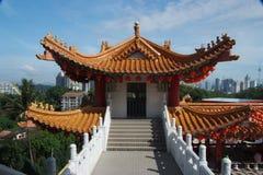 如何thean的寺庙 免版税库存图片