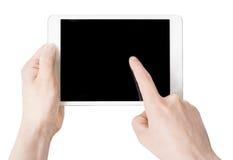 如果层单独需要的个人计算机压片他们您,箭头可能删除享用 免版税库存照片