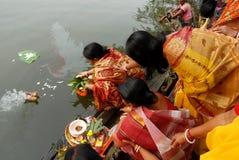 妇女仪式 免版税库存照片