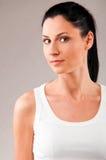 妇女体育运动微笑0121 (62) .jpg 免版税库存图片
