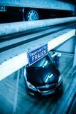 妇女停车位标志 库存图片