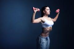 妇女健身刺激 库存图片
