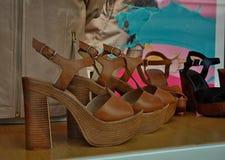 妇女凉鞋 免版税库存图片