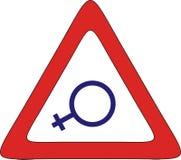 妇女区域 免版税图库摄影