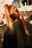 妇女发型 库存图片