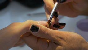 妇女可及专业修指甲美容院 股票录像