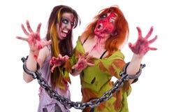 妇女吸血鬼 图库摄影