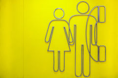 妇女和人 库存照片