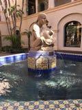 妇女喷泉 图库摄影