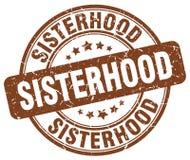 妇女团体褐色邮票 皇族释放例证