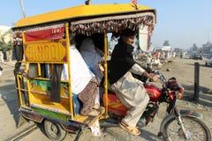 妇女在巴基斯坦 免版税图库摄影