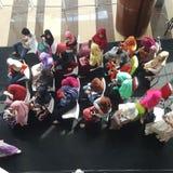 妇女在Hijab 免版税图库摄影
