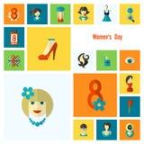 妇女天象集合 图库摄影
