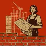 妇女天 免版税图库摄影