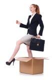 妇女女实业家 免版税库存照片