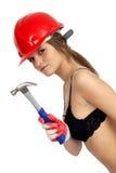 妇女工作 免版税库存图片
