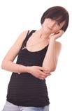 妇女年轻人 免版税库存照片