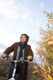 妇女循环 免版税图库摄影