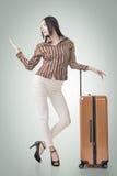 妇女旅行 免版税图库摄影