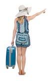 妇女旅行 免版税库存照片