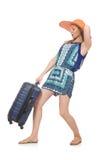 妇女旅行 图库摄影