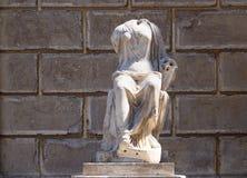 妇女无首的雕象,罗马,意大利 免版税库存图片