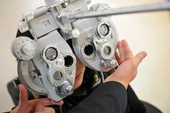 视力测定 免版税图库摄影
