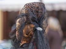 妇女梳子 免版税库存照片