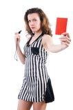 妇女法官 免版税库存照片