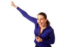妇女的体育教练 库存照片