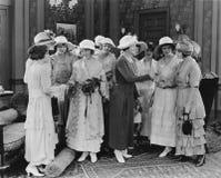妇女的俱乐部(所有人被描述不更长生存,并且庄园不存在 供应商保单将没有模型关于 库存照片