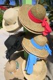 妇女的太阳帽子 库存照片