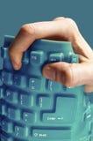 灵活的键盘 免版税库存照片