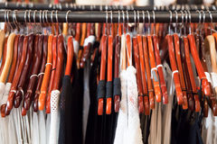 妇女的时尚衣裳 免版税图库摄影