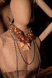 妇女的时装配件精品店 免版税库存照片