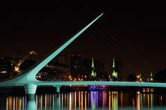 妇女的桥梁,布宜诺斯艾利斯 图库摄影