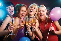 妇女的聚会 库存图片