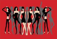 妇女的聚会 图库摄影