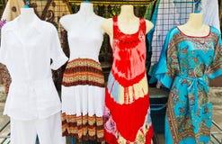 妇女的衣物。 免版税库存图片