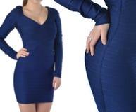 妇女的衣物项目  免版税库存照片