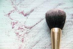 妇女的辅助部件化妆用品  免版税库存照片
