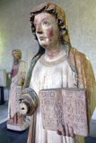 妇女的雕塑 库存图片